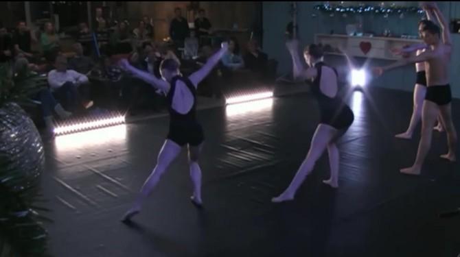 De balletvoorstelling van Introdans