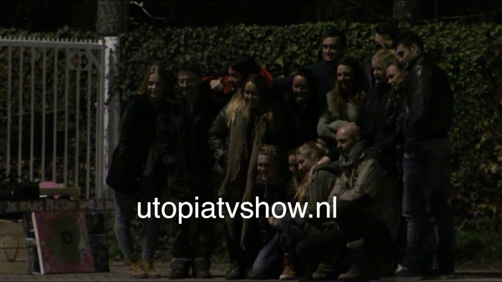 Isabella verlaat Utopia - Groepsfoto