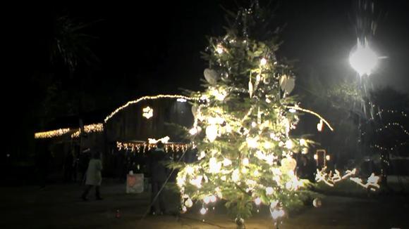 Centraal met opening van kerst terrein Utopia