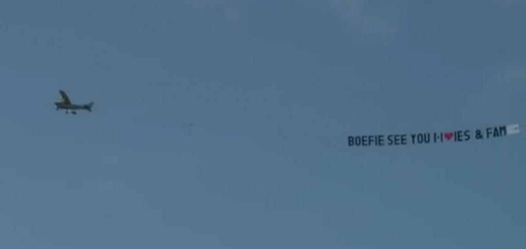 Vliegtuigje van Isabella voor Gio
