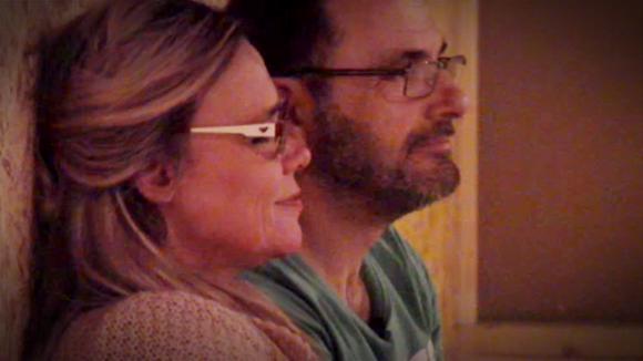 Colinda en Wilco op de vide over Patrick