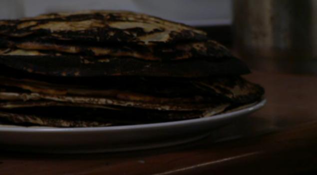 Pannenkoeken gebakken door Patrick