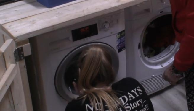 Wasmachine kapot in Utopia