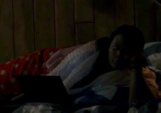 Gabriëlle vind Naomi frustrerend