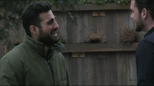Joey en Ivan bedenken nieuwe grap