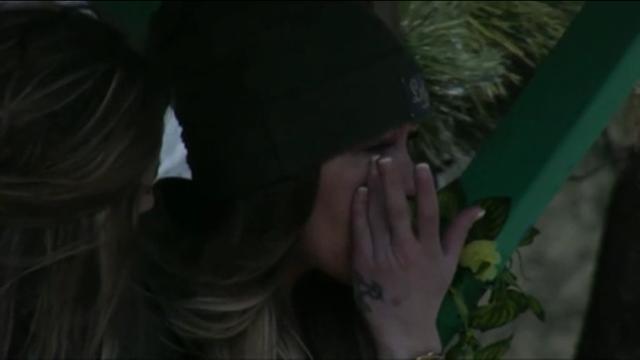 Laura wederom emotioneel