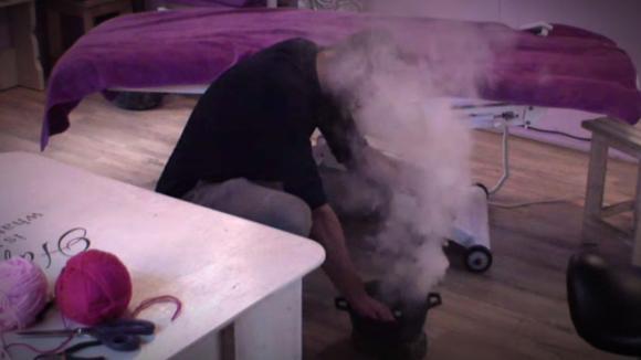 De grap met de rookbommen
