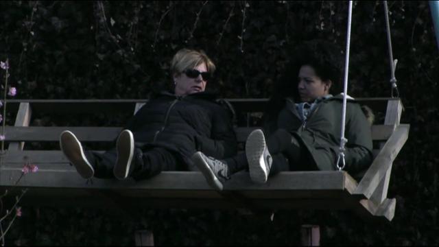 Tineke en Gaby in gesprek over vertrek