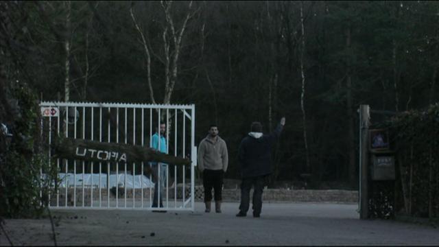 Wilco wil een poort bouwen