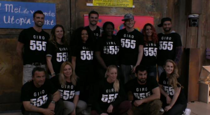 Bewoners van Utopia steunen Giro 555