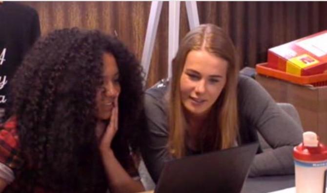 Naomi en Gaby willen een Utopia kermis