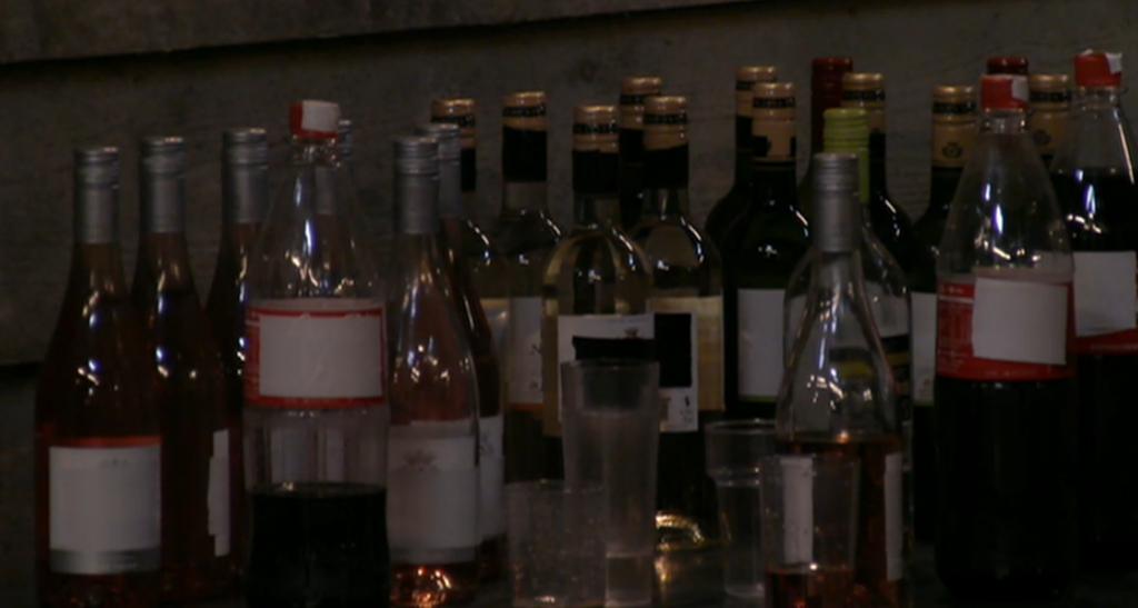 Drank voorraad feest