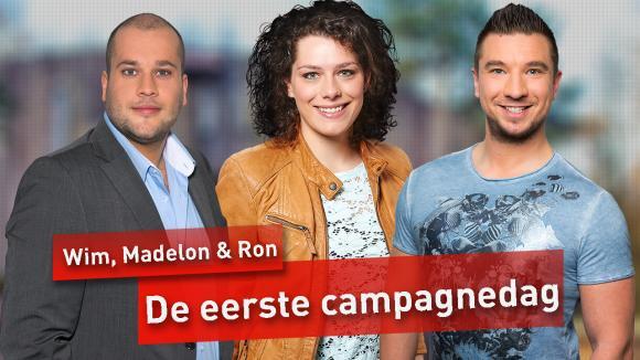 De eerste campagne dag.