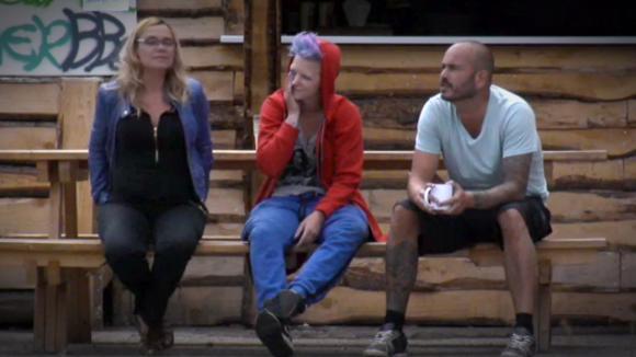 Rob en Stefanie praten over hun zoen