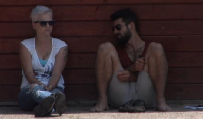 Stefanie lijkt nog steeds interesse in Rob te hebben