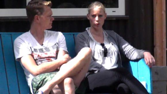 Benjamin en Nicole over Cees