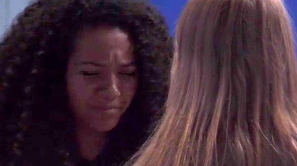 Gaby in tranen omdat Rolf blijft