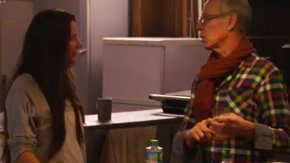 Cees praat met Armanda