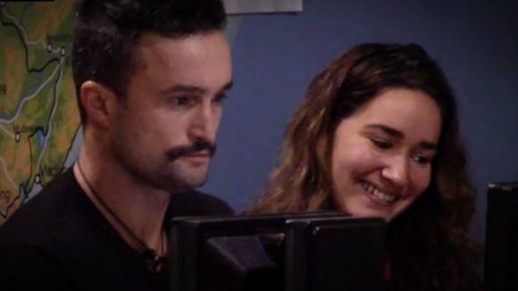 Morgen worden Mark en Gina ouders!