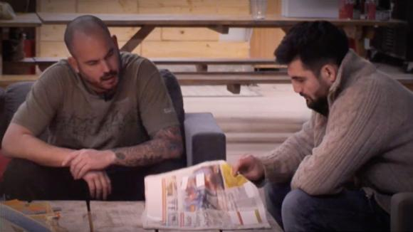Ivan leest in de krant over commotie rondom Arthur