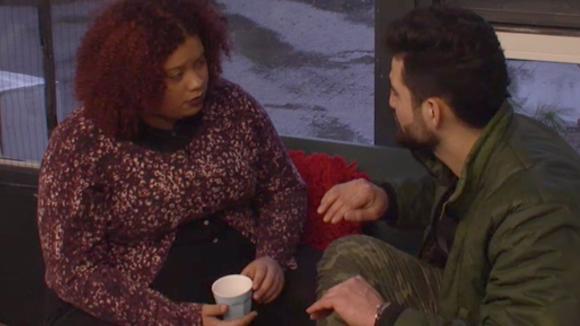 Ramona en Ivan hadden een goed gesprek