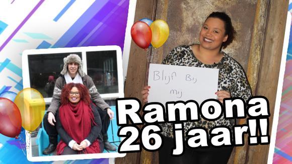 Ramona is jarig!