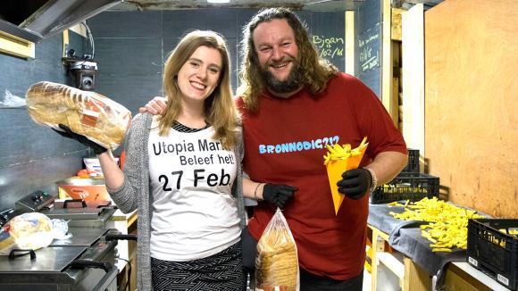 Een spannende dag voor Bronno en Simone