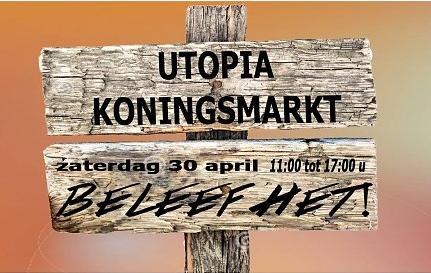De Utopia markt van 30 april