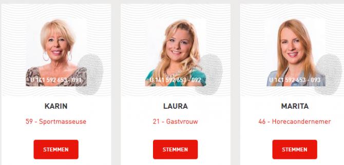 Maak kennis met Karin, Laura en Marita