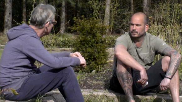 Cees en Rob praten over hun ruzie en financiën