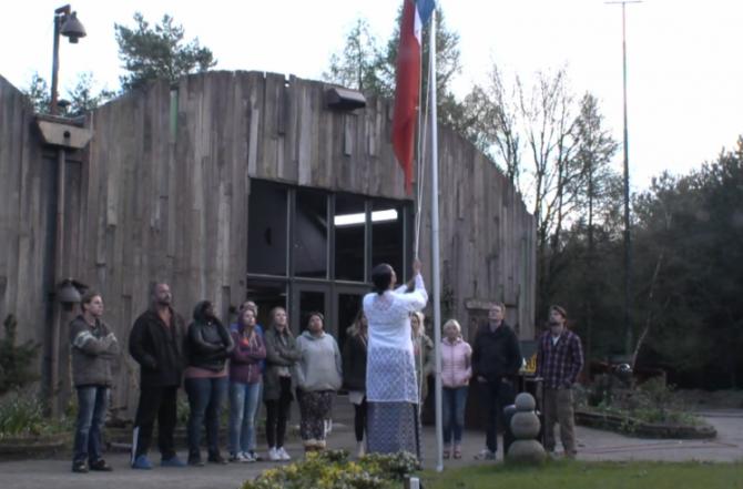 Rowena eert haar Molukse voorouders