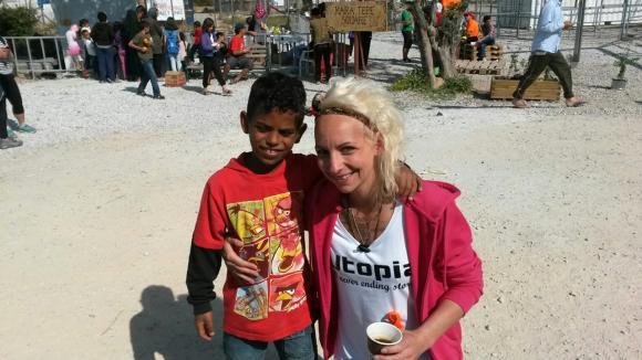 Victoria is op Lesbos gearriveerd