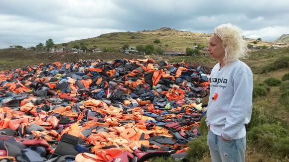 De derde dag in Lesbos voor Victoria