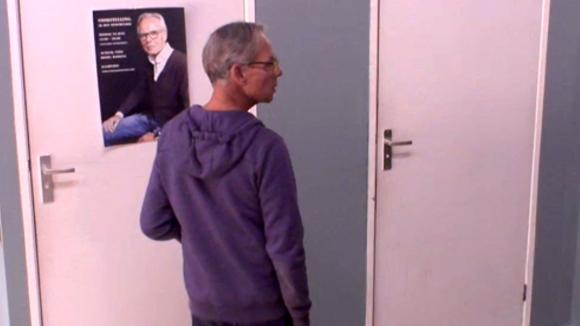 Ruzie tussen Gina en Cees over een promotie poster