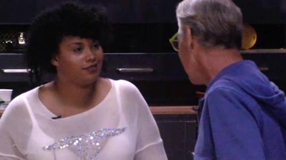 Ramona wil een etiquette workshop doorzetten