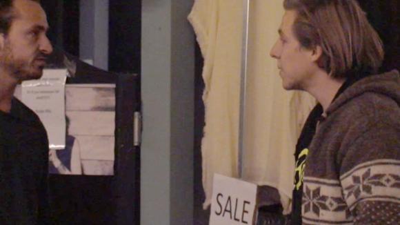Bas boos op Jessie doordat hij gezegd heeft dat Bas niet zou werken