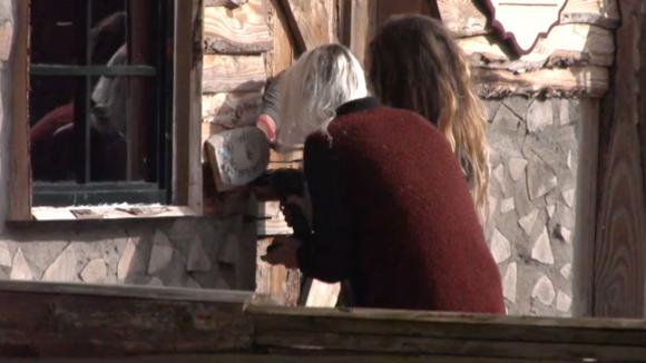Victoria en Gina sluiten het cordwood af