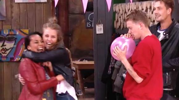 Ramona voelt zich aangevallen door Cees