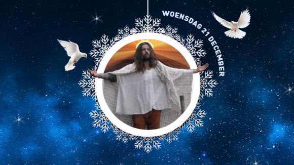 Ruud speelt toch Jezus in het Utopiaans kerstverhaal?