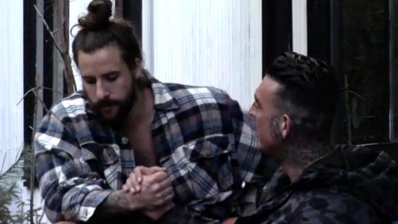 Ruud en Boyd praten hun ruzie uit