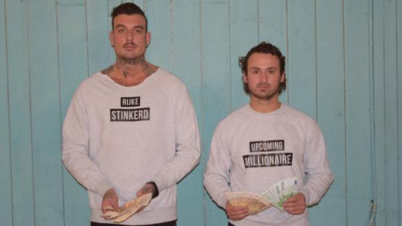 Jessie en Boyd hebben truien ontwikkeld om te verkopen