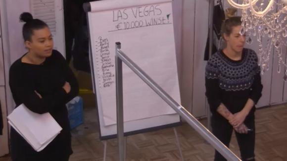 Billy en Ramona leggen de spelregels uit rondom de Las Vegas wedstrijd