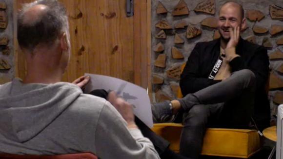 """Rob voert een """"psychologisch"""" gesprek met Kevin"""