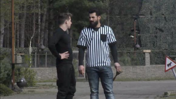 Bas sluit met oud bewoner Ivan een weddenschap