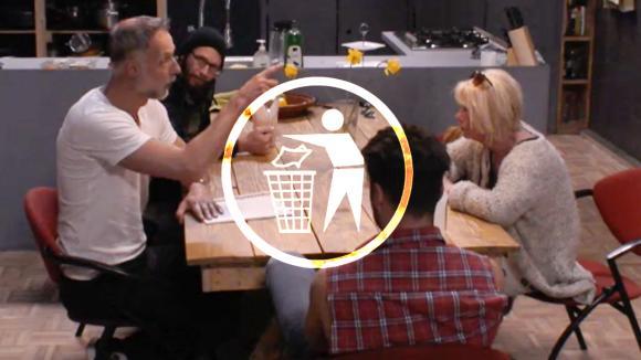 Volgens Cemal, Karin, Rob en René moet de loods veel schoner
