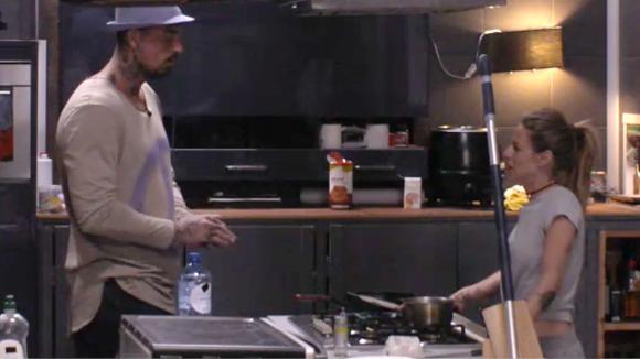 """Billy en Boyd gaan een """"lunchwedstrijd"""" met elkaar aan"""