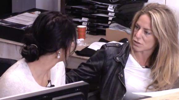 Madilia besprak te persoonlijke dingen in het centraal en werd onderbroken door Billy