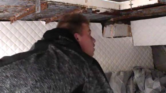 Noah had een natte nacht in de boot