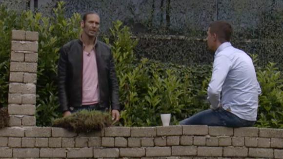 Johan en René maken plannen om Utopia verder uit te breiden