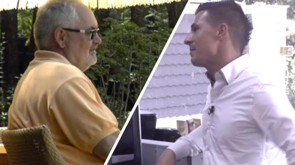 Potentiële bewoner Johan en Arnold maken kennis met hun mede bewoners